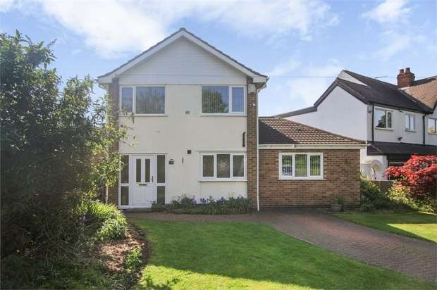 4 Bedrooms Detached House for sale in Birmingham Road, Great Barr, Birmingham, West Midlands