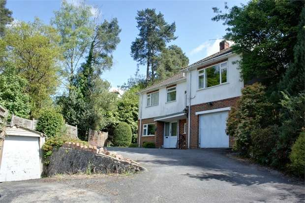 3 Bedrooms Detached House for sale in Upper Bourne Lane, Wrecclesham, Farnham, Surrey