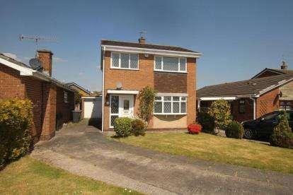 3 Bedrooms Detached House for sale in Alport Rise, Dronfield Woodhouse, Dronfield, Derbyshire