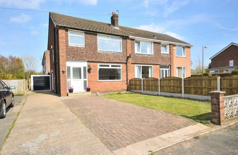 3 Bedrooms Semi Detached House for sale in MIDLAND ROAD, Bramhall