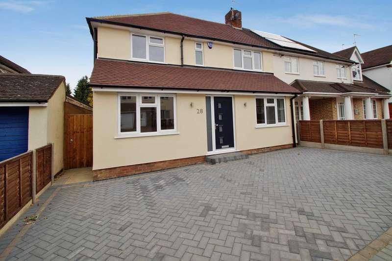 4 Bedrooms Semi Detached House for sale in Ranelagh Road, Hemel Hempstead