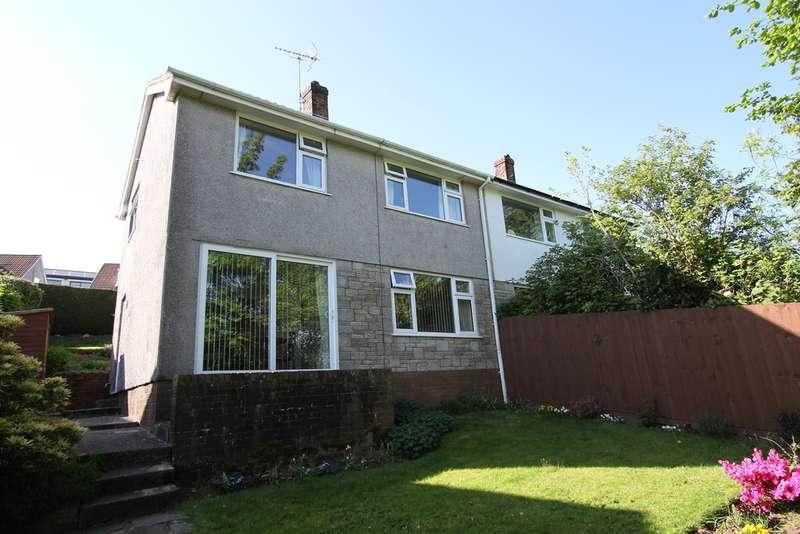 3 Bedrooms Semi Detached House for sale in Malvern Close, Risca, Newport