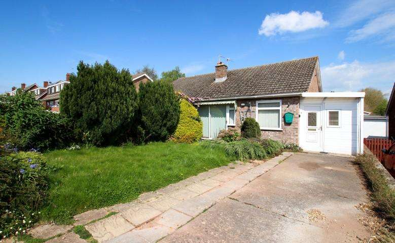 2 Bedrooms Semi Detached Bungalow for sale in Conway Road, Cannington, Bridgwater TA5