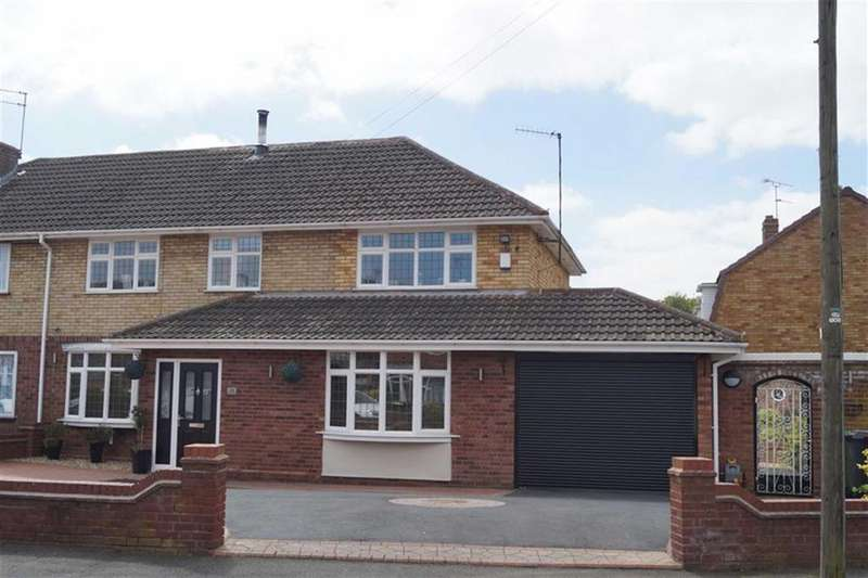 4 Bedrooms Semi Detached House for sale in Lingfield Avenue, Fordhouses, Wolverhampton