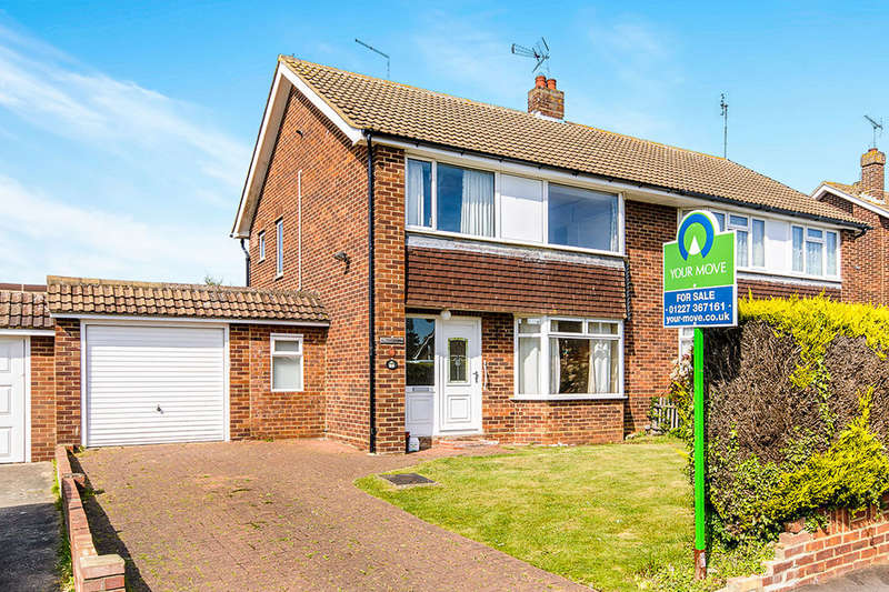 3 Bedrooms Semi Detached House for sale in Summerfield Avenue, Whitstable, CT5