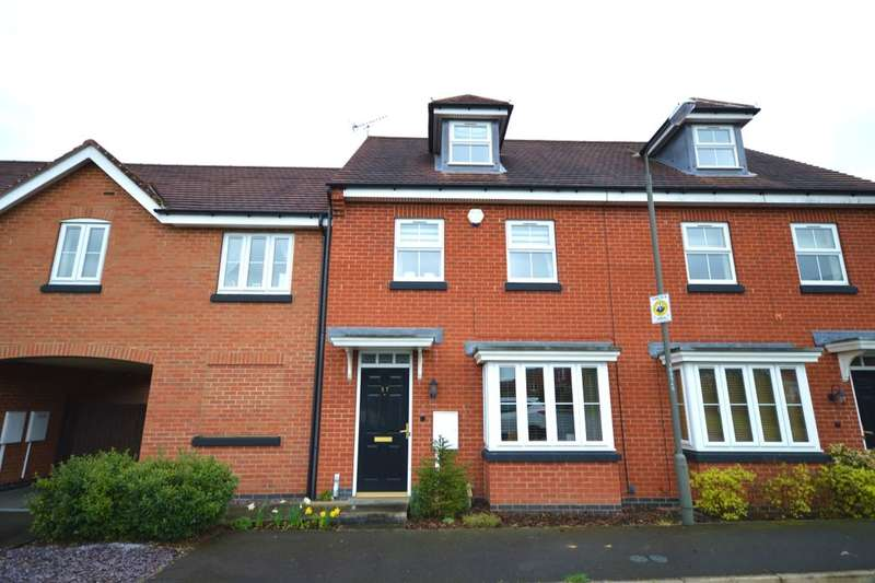 3 Bedrooms Property for sale in Anglia Drive, Church Gresley, Swadlincote, DE11