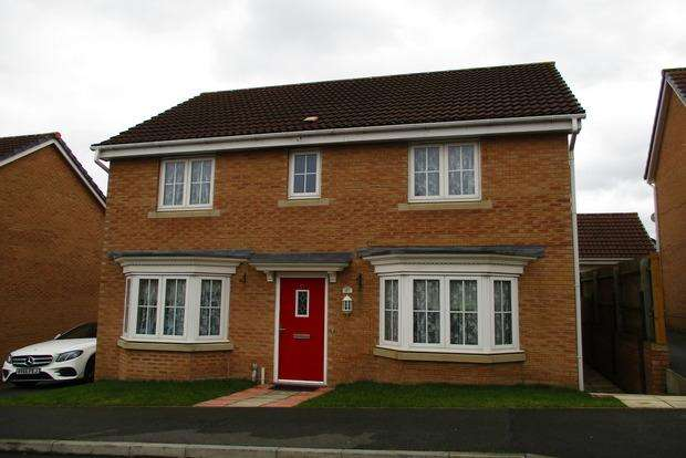4 Bedrooms Detached House for sale in Tuffleys Way, Thorpe Astley, Leicester, LE3
