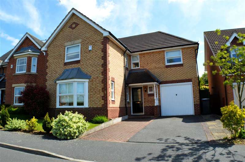 4 Bedrooms Detached House for sale in Discovery Close, Sleaford