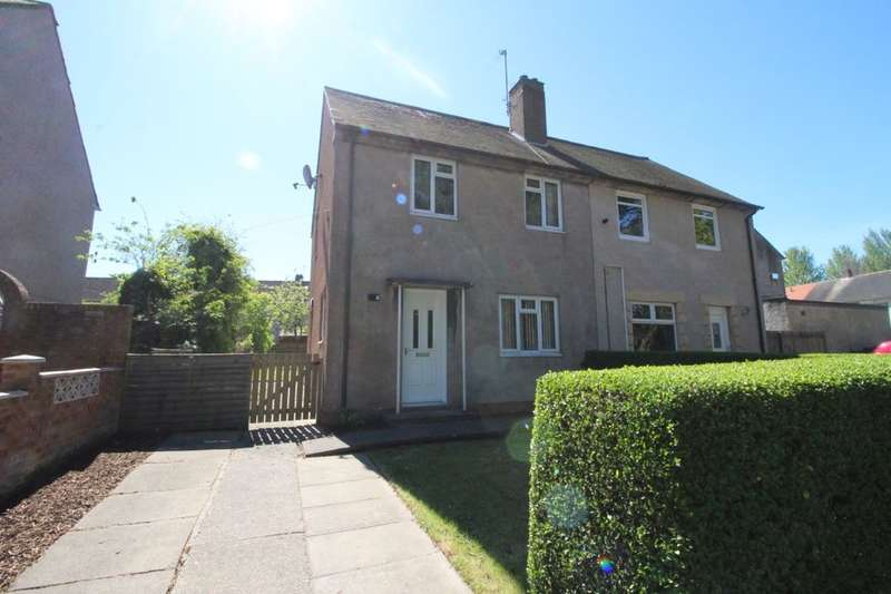 2 Bedrooms Semi Detached House for sale in Woodburn Road, Glenrothes, KY7