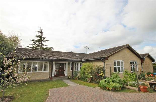 5 Bedrooms Detached Bungalow for sale in 43 The Pastures, Lower Westwood, Bradford on Avon, Wiltshire