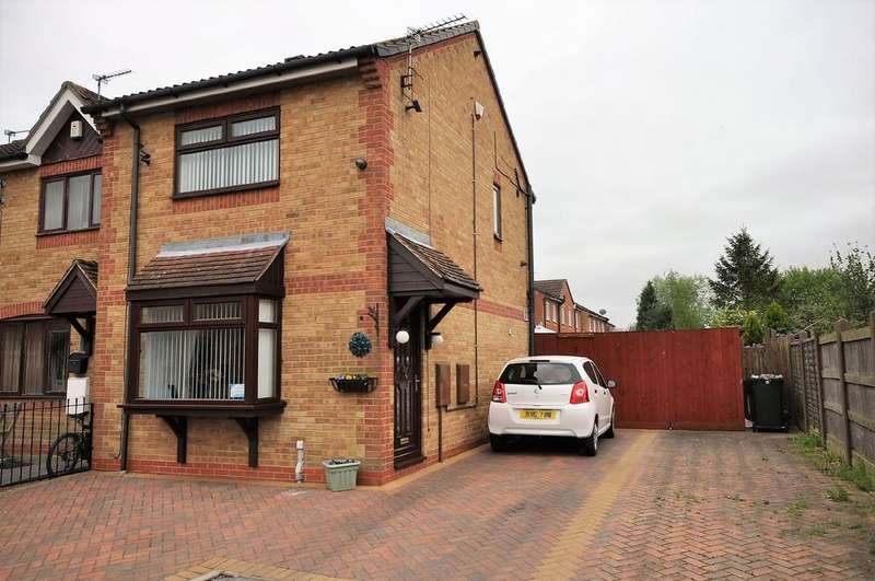 2 Bedrooms End Of Terrace House for sale in Charles Court, Thorne, Doncaster