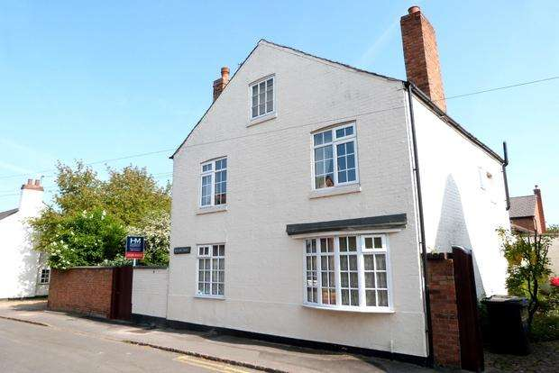 4 Bedrooms Detached House for sale in Bath Street, Syston, Leicester, LE7