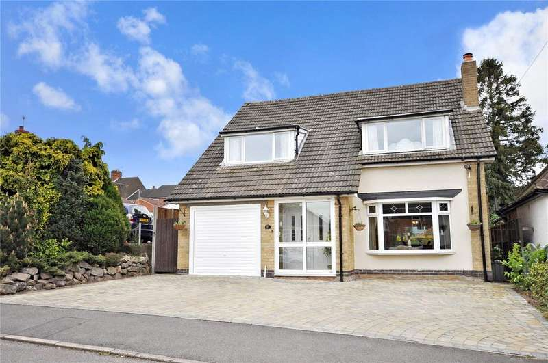 3 Bedrooms Detached House for sale in Ashleigh Road, Glenfield, Leicester
