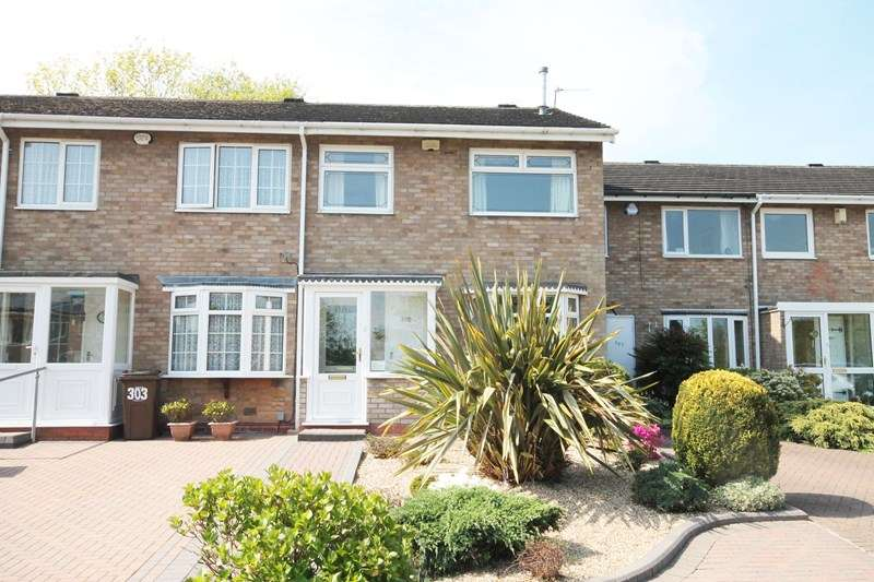 3 Bedrooms Terraced House for sale in Rowood Drive, Damsonwood, Solihull