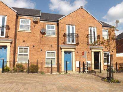2 Bedrooms Terraced House for sale in Brass Thill Way, Westoe Crown Village, South Shields, Tyne and Wear, NE33