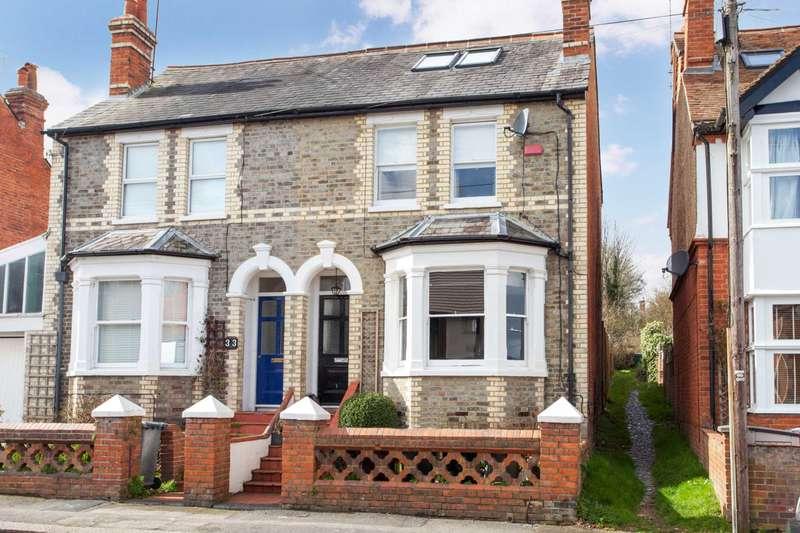 4 Bedrooms Semi Detached House for sale in Blenheim Road, Caversham Heights