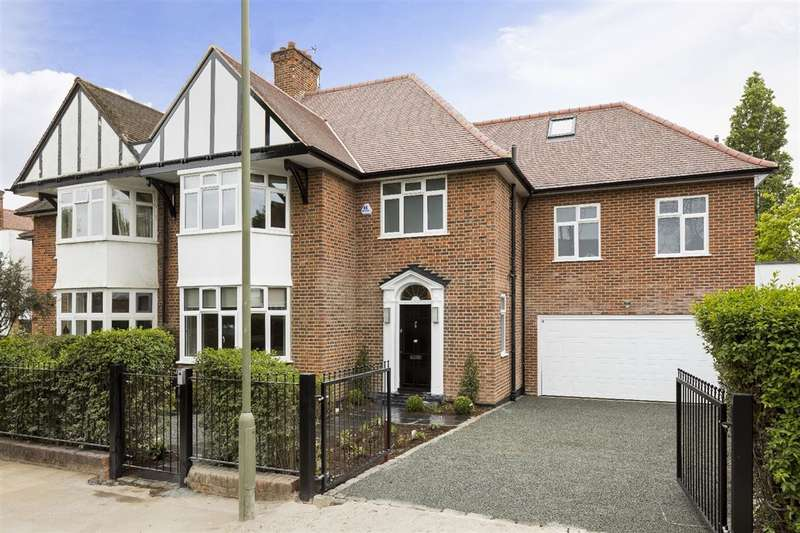 5 Bedrooms House for sale in Harman Drive, London, NW2