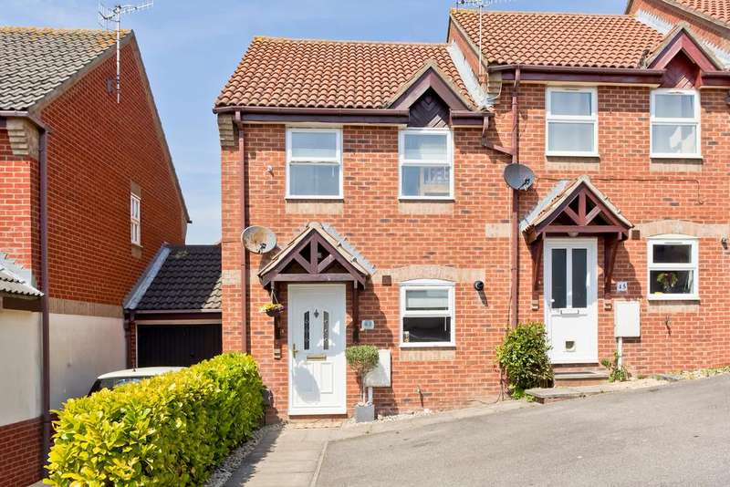 2 Bedrooms End Of Terrace House for sale in Langridge Drive, Portslade BN41
