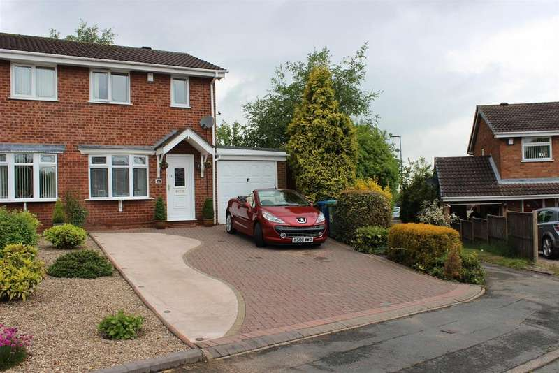 2 Bedrooms Semi Detached House for sale in Swindale, Wilnecote, Tamworth