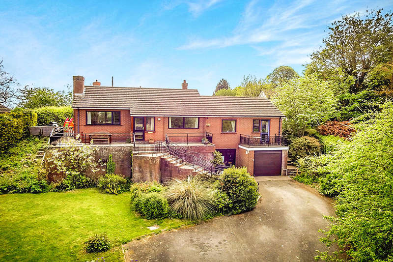 3 Bedrooms Detached Bungalow for sale in Delfan, Pant, Oswestry, SY10