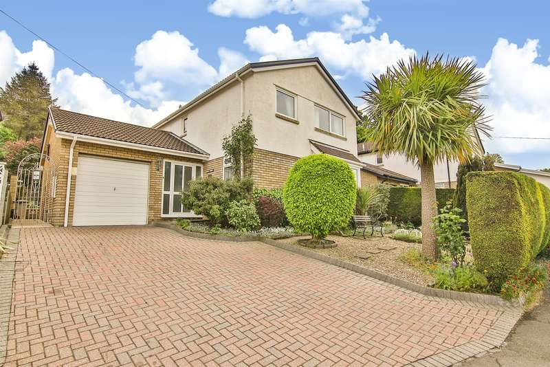 4 Bedrooms Detached House for sale in Windyridge, Dinas Powys