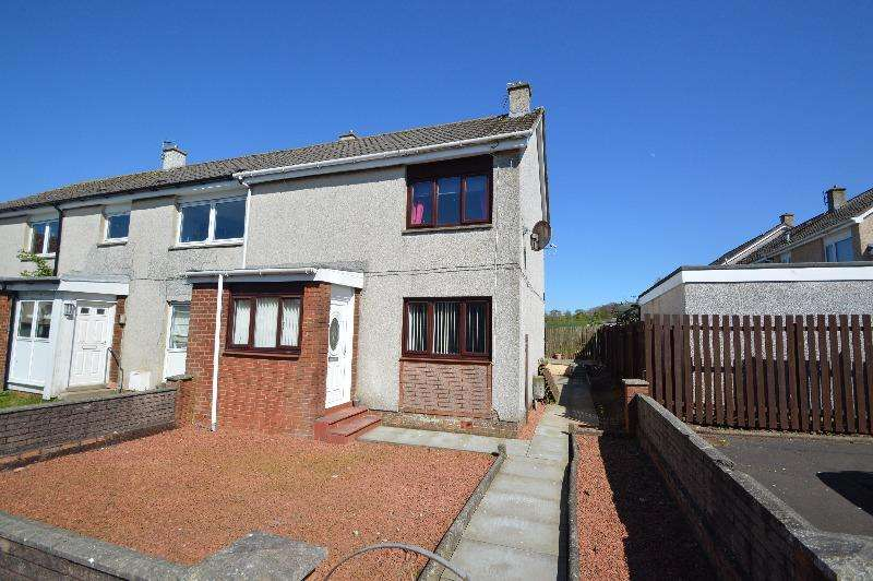 2 Bedrooms Terraced House for sale in Arcon Avenue, Mossblown, South Ayrshire, KA6 5BT