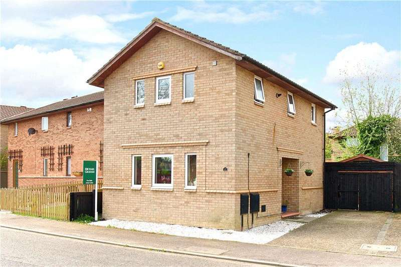 3 Bedrooms Detached House for sale in Montgomery Crescent, Bolbeck Park, Milton Keynes, Buckinghamshire