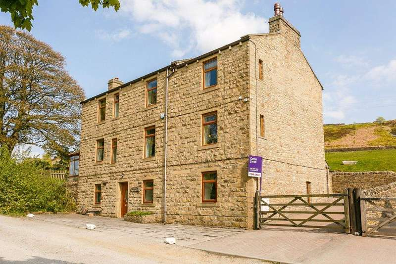 5 Bedrooms Detached House for sale in Hill Top Road, Hainworth, Keighley, West Yorkshire, BD21