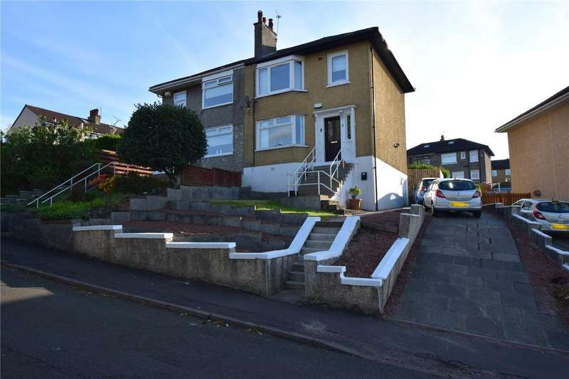3 Bedrooms Semi Detached House for sale in Shetland Drive, Glasgow, Lanarkshire