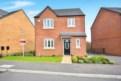 3 Bedrooms Detached House for sale in Webb Ellis Road, Kirkby In Ashfield, Nottinghamshire, England