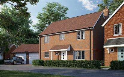 4 Bedrooms Detached House for sale in Peel Close, Romsey