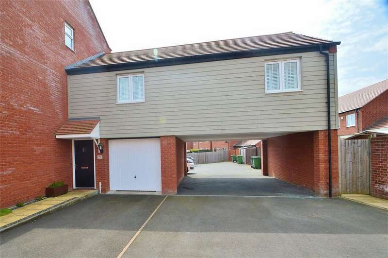 2 Bedrooms Flat for sale in Betjeman Way, Cleobury Mortimer, Kidderminster, Shropshire