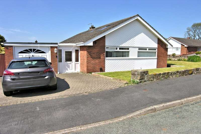 3 Bedrooms Detached Bungalow for sale in AVON RISE, KINGSTON HILL, STAFFORD ST16