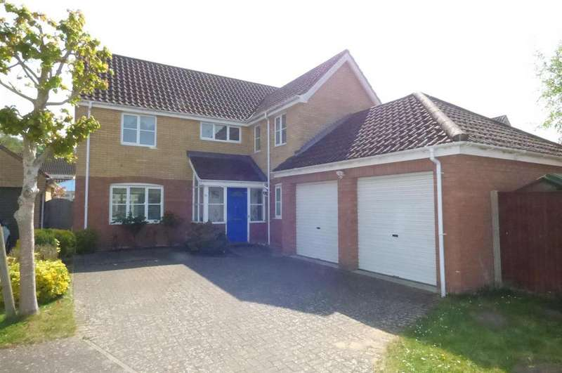 4 Bedrooms Detached House for sale in Teal Walk, Brandon