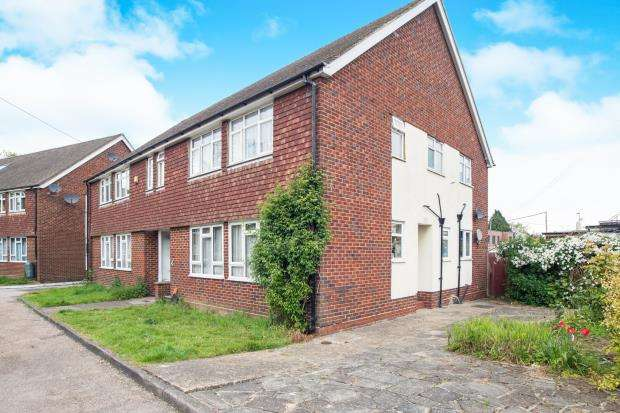 2 Bedrooms Maisonette Flat for sale in Burgh Heath, Tadworth, Surrey