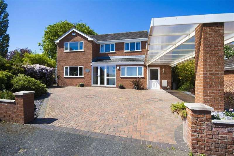 4 Bedrooms Detached House for sale in Silverbirch Drive, Gresford