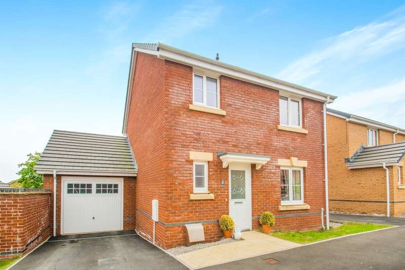 3 Bedrooms Detached House for sale in Ffordd Magnolia, Llanharry, Pontyclun