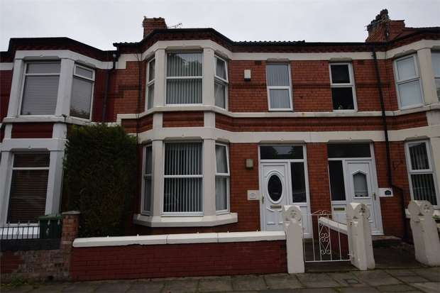 3 Bedrooms Terraced House for rent in Woodchurch Road, BIRKENHEAD, Merseyside