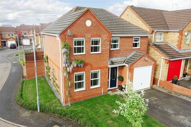 4 Bedrooms Detached House for sale in Ryelands Close, Market Harborough, Leicestershire