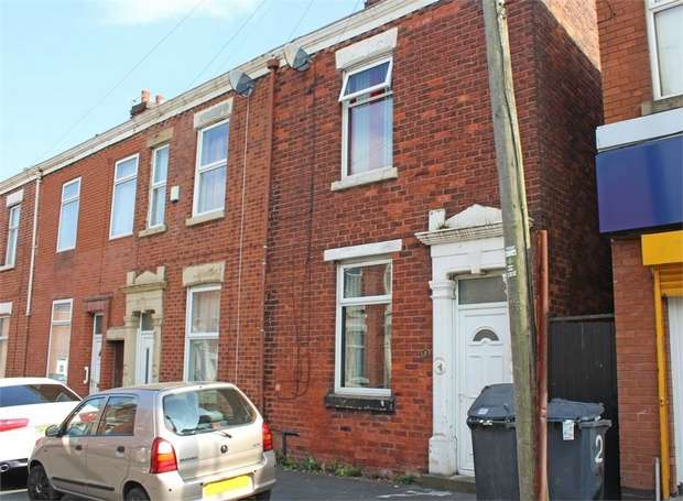 2 Bedrooms End Of Terrace House for sale in Holman Street, Preston, Lancashire