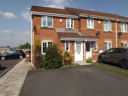 3 Bedrooms End Of Terrace House for sale in Chandlers Way, Sutton Manor, St. Helens, Merseyside, WA9