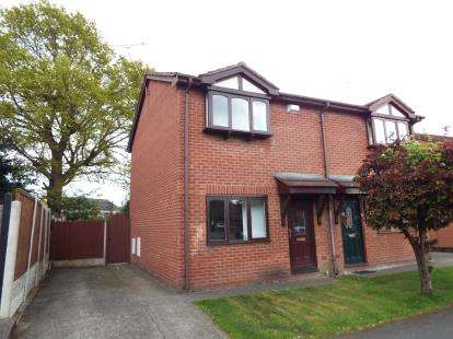 2 Bedrooms Semi Detached House for sale in Glascoed Way, Summerhill, Wrexham, Wrecsam, LL11