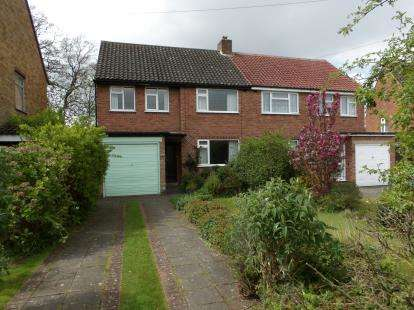 3 Bedrooms Semi Detached House for sale in Rushleigh Road, Shirley, Solihull, West Midlands