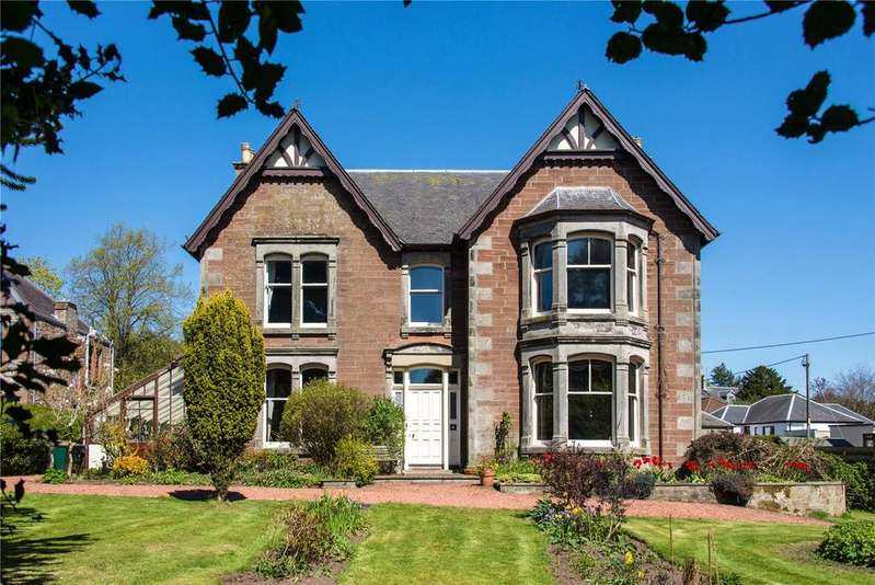 5 Bedrooms Detached House for sale in Charismhor, 14 Burleigh Road, Milnathort, Kinross, Perth and Kinross, KY13
