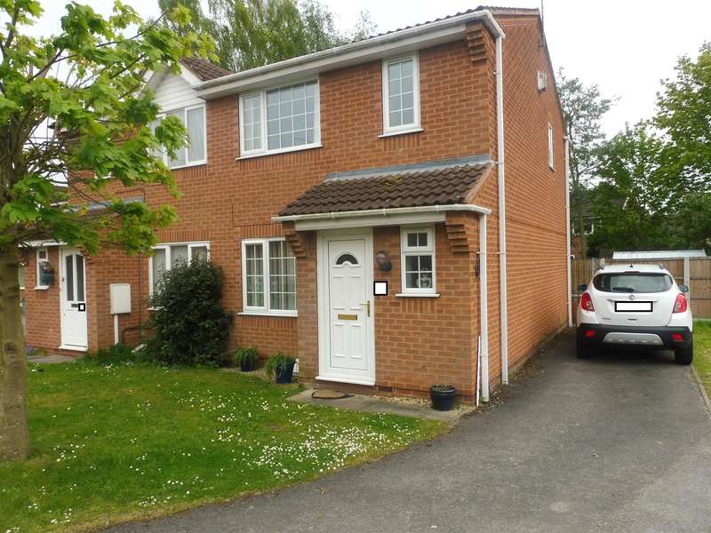 3 Bedrooms Semi Detached House for sale in Centenary Close, New Balderton, Newark, NG24