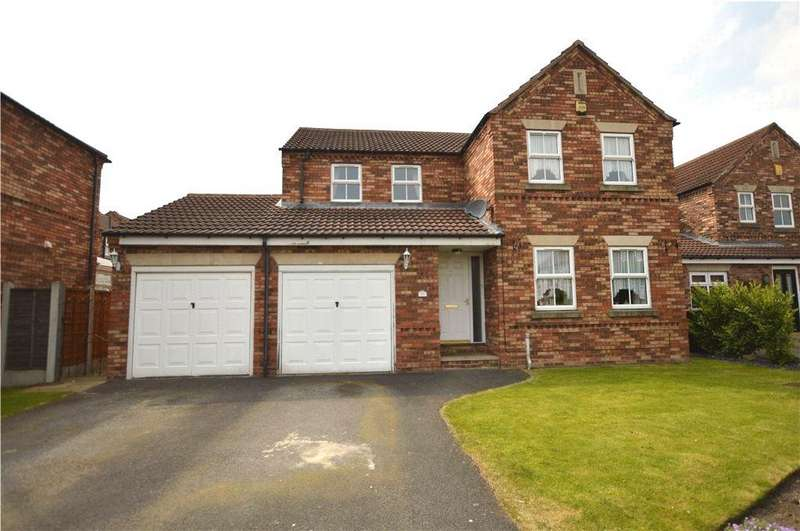 4 Bedrooms Detached House for sale in Castlefields, Rothwell, Leeds, West Yorkshire