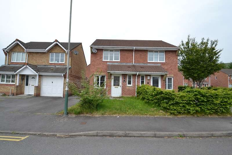 2 Bedrooms Semi Detached House for sale in 2 Tyn Y Parc , Abertridwr, Caerphilly. CF83 4ED