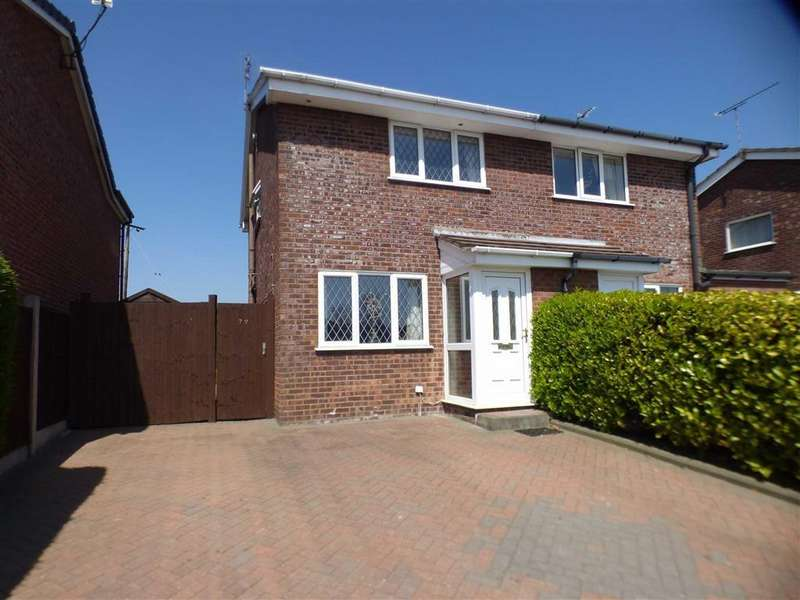 2 Bedrooms Semi Detached House for sale in 78, Ness Grove, Cheadle