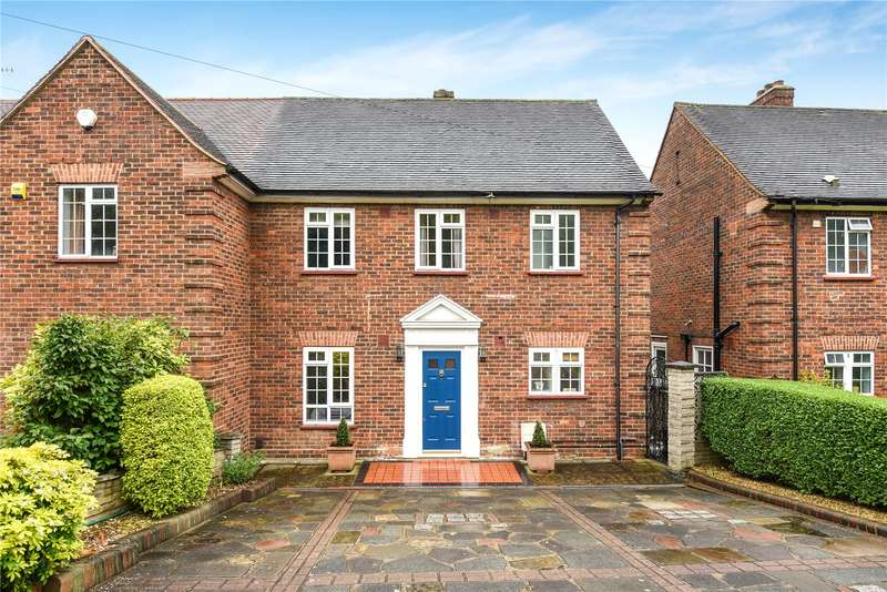 3 Bedrooms Semi Detached House for sale in Northwood Way, Northwood, Middlesex, HA6