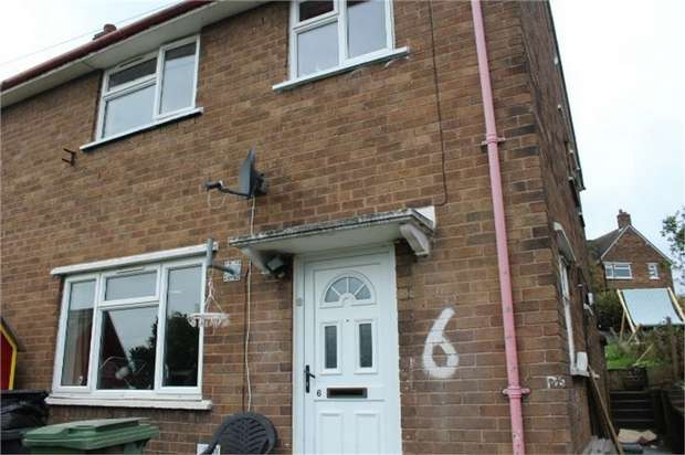 3 Bedrooms Semi Detached House for sale in Ash Grove, Acrefair, Wrexham